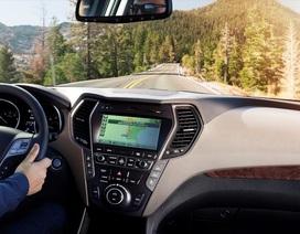 Hyundai Santa Fe 2018 có nguy cơ rơi vô-lăng
