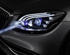 Mercedes đưa đèn pha thông minh lên xe Maybach