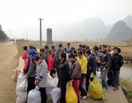 Bị bắt khi đang dẫn hàng chục người vượt biên sang Trung Quốc