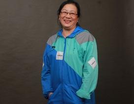 Chuyện về nữ tài xế công nghệ U70