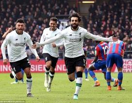 "Kỷ lục của C.Ronaldo ở Premier League bị Salah ""nuốt gọn"""
