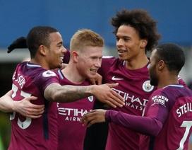 Nhìn lại chiến thắng tưng bừng của Man City trên sân Everton