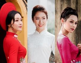 1 trong 10 cô gái xinh đẹp này sẽ trở thành Hoa khôi trường Báo tối nay