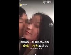 Thầy giáo bị đuổi việc vì vô tình đăng video hôn học sinh lên mạng xã hội