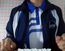 """Nam sinh viên """"gây sốt"""" với clip nhạc chế hướng dẫn chọn trường mùa thi"""
