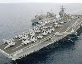 Mỹ điều tàu sân bay tới cửa ngõ Trung Đông giữa căng thẳng tại Syria
