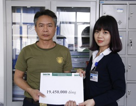 Gần 20 triệu đồng tiếp tục đến với gia đình người thiếu tá bộ đội mất vợ, con nguy kịch