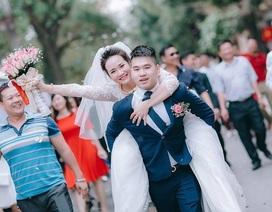 Chuyện tình yêu 8 năm của cặp đôi Bắc Giang cách nhà nhau 300m