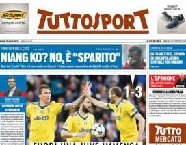 Báo chí Italia trút giận lên trọng tài sau khi Juventus bị loại