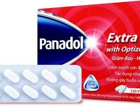 Giảm nhanh cơn đau với Panadol Extra with Optizorb