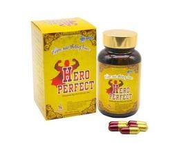 Tăng cường sức khỏe nam giới mỗi ngày nhờ thực phẩm bảo vệ sức khỏe Hero Perfect