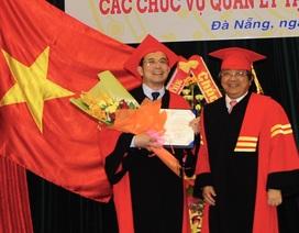 ĐH Đà Nẵng trao danh hiệu Giáo sư danh dự đến bác sĩ Việt kiều Đức