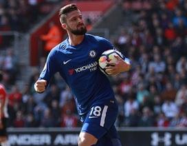 Southampton 2-3 Chelsea: Người hùng Giroud