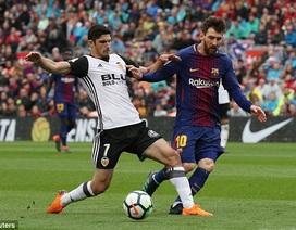 Luis Suarez ghi bàn, Barcelona giành 3 điểm quan trọng trước Valencia