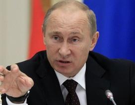 """Tổng thống Putin gọi cuộc không kích của phương Tây vào Syria là """"gây hấn"""""""