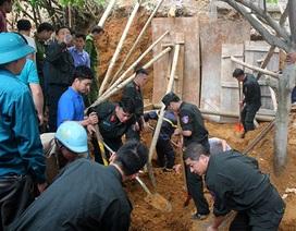 Sạt lở kè đất vùi lấp 4 người, 3 người tử vong