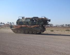 Hình ảnh đầu tiên bên trong sân bay quân sự Syria bị tấn công