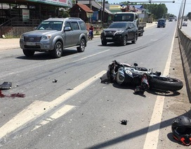Tai nạn kinh hoàng với xe phân khối lớn ở Đồng Nai