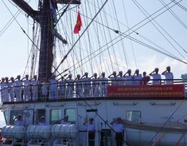Tàu buồm đầu tiên của Hải quân Việt Nam thăm Campuchia, Thái Lan
