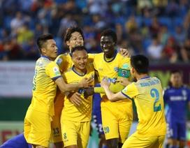 FLC Thanh Hoá, SL Nghệ An và SHB Đà Nẵng vào tứ kết cúp quốc gia