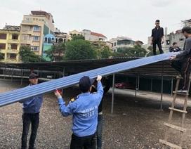 """Hà Nội: Tháo dỡ, đóng cửa bãi trông xe """"khủng"""" thu tiền tỉ"""