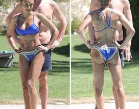 Mel B khoe thân hình cơ bắp sau 3 lần sinh nở
