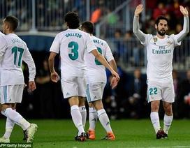 Isco lập siêu phẩm, Real Madrid soán vị trí của Valencia