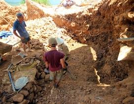 Giải cứu 11 thanh niên bị đánh đập, bóc lột tại mỏ vàng