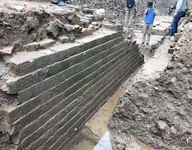 Công bố dấu tích kiến trúc nghìn năm dưới Điện Kính Thiên