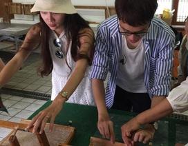 Khám phá làng giấy cổ tích ở Hàn Quốc