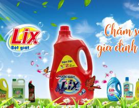 """Bột giặt LIX- Sứ mệnh """"Chăm sóc gia đình Việt"""""""