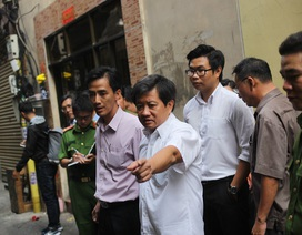 Kiểm tra PCCC hàng trăm tòa cao ốc ở trung tâm Sài Gòn