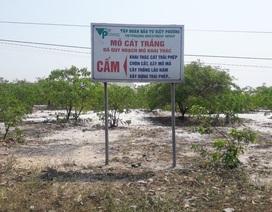 Xã phản ứng doanh nghiệp về xây dựng nhà máy chế biến bột, cát tại Thừa Thiên Huế!