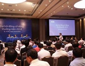 Diễn biến căng thẳng tại phiên họp cổ đông ACB