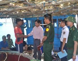Tàu cá Lý Sơn trình báo bị cướp tài sản trên vùng biển Hoàng Sa