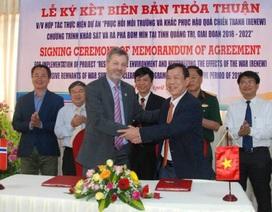Na Uy hỗ trợ hơn 225 tỷ đồng khắc phục hậu quả bom mìn tại Quảng Trị