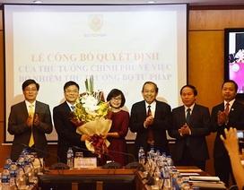 Trao quyết định bổ nhiệm Thứ trưởng Bộ Tư pháp và Bộ Tài nguyên-Môi trường