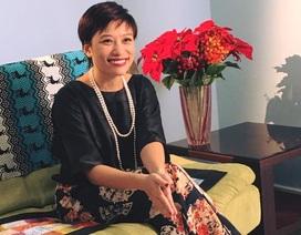 """Trần Ly Ly: """"Chồng tôi chưa bao giờ phải chịu đựng sự """"điên rồ"""" của tôi"""""""