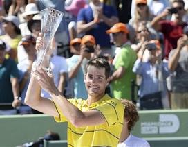 Đánh bại Zverev, Isner thành tân vương của Miami Open