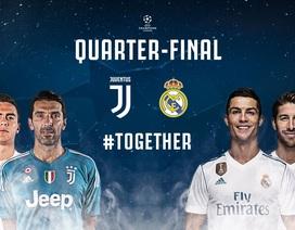 Lượt đi vòng tứ kết Champions League: Rực lửa đại chiến