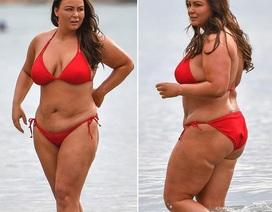 Ngôi sao người Anh tự tin diện bikini sau hành trình giảm cân vất vả