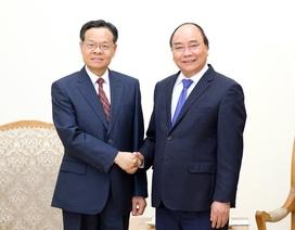 Thủ tướng tiếp Chủ tịch Khu tự trị dân tộc Choang - Trung Quốc