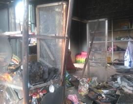 Cháy quán tạp hóa, tên trộm... bị bỏng