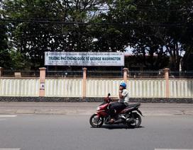 Quảng Ngãi: Trình UBND tỉnh dừng hoạt động trường George Washington