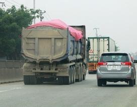 """Ninh Bình: """"Nóng"""" xe quá tải hoạt động rầm rộ trên các tuyến quốc lộ!"""