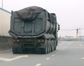 """Ninh Bình: CSGT mạnh tay dẹp """"binh đoàn"""" xe quá tải sau phản ánh của Báo Dân trí!"""