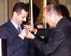 Tổng thống Syria trả lại huân chương danh giá nhất cho Pháp