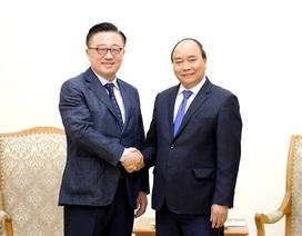 Thủ tướng đề nghị Samsung tiếp tục mở rộng đầu tư tại Việt Nam