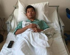 """Đạp gãy xương đối thủ, cầu thủ Than Quảng Ninh nhận án """"phạt nguội"""" từ VFF"""