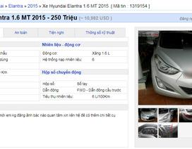 Xe cũ xuống giá nhanh, từ 200 - 300 triệu đồng bán tràn lan